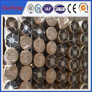 Quality Great! 6061 aluminium cnc machining , Aluminium led profile heat sink heat pipe for sale