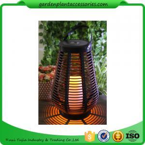 Quality Decorative Solar Garden Lights , Vase Shaped Solar Lights For Outside for sale