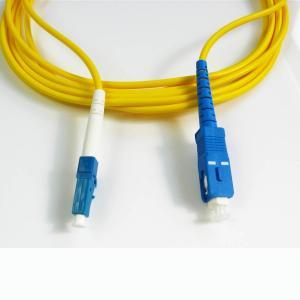 3m 9 125 Fiber Cable , Single Mode Fiber Jumpers For Communication