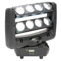 Quality White Colour Beam Effect Lumin LED Disco Lights Beam Effect Light ADJ Crazy 8 for sale