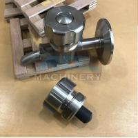 Buy Sanitary Stainless Steel Sample Valve Tri Clamp Style Saniatry Pipe Fitting at wholesale prices
