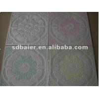 Quality Colorful Gypsum Ceiling Board with fiberglass for sale