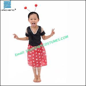China Snow white Princess Fancy Dress ladybug Costumes DC008 on sale