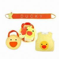Quality Baby Bath Set with Embroidery for sale