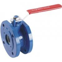 Wafer Type Cast Iron Ball Valve DN50 1.6Mpa DIN Standard Anti - Static for sale