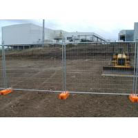 Buy cheap Construction Australia Galvanized Temporary Fence 2.4x2.1 Meter from wholesalers
