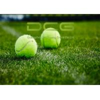 Quality UV Resistant Synthetic Grass Tennis ,Outdoor Grass Carpet Green Color for sale