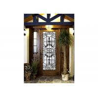 Buy cheap match iron wine gates for Building Decorative Art Glass Sound Insulation from wholesalers
