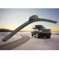 China Flat Car Window Wiper Blades , Audi A4 Replacement Wiper Arm With PVC Spoiler on sale