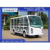 China 14 Seaters Electric Passenger Vehicles With Door Recharge Time 8 ~ 10h on sale