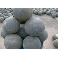 Quality Grinding Media High Cr Cast Balls for Coal Mill / Cement Industry for sale