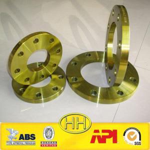 Quality EN1092-1:2007 type 01 plate flange PN6-PN63 S235JR/ST37-2 for sale