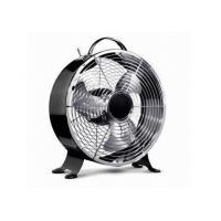 Quality Home Appliance Retro Metal Electric Desktop Fan with Two Speed 25W for sale