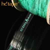 Quality Printed tpu clear elastic tape for hanger tape for sale