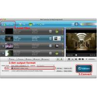 Quality MXF Converter for Mac can convert mxf to imove, final cut pro, mpg on mac for sale