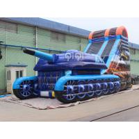 Quality Tank War Inflatable Slide for sale
