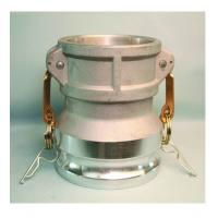Quality Aluminum camlock coupling for fluid control Reducing Type DA MIL-A-A-59326 Gravity casting for sale