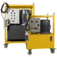China Hydraulic Driven Pipe Cutting And Beveling Machine Auto Feed Steel Body On Site on sale