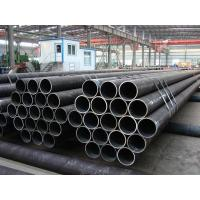 Quality PE BE Coated ERW Steel Pipe Welded BS1387 For Hydraulic Pipline , 3m - 12m Length for sale