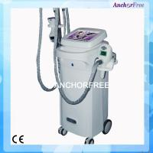 China Vacuum Liposuction Infrared Laser Body Slimming Machine , Bipolar RF Roller Massage Cellulite Reduction Machine on sale