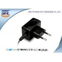 Quality CE / GS EU plug 12W AC DC Switching Power Supply 100% Aging Test for sale