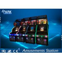 Quality Game Center Coin Operated Arcade LED Basketball Game Machine Equipment for sale