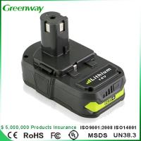Quality High quality power tool battery Ryobi P107 18V 3000mAh battery for sale