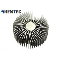 Buy cheap Silvery Anodized Aluminum Heatsink Profiles / Heat Sink Profiles For Led Light from wholesalers