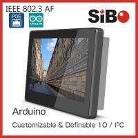 Quality SIBO 7 Inch Tablet Q896 With Glass Wall Mount Bracket LED Light For Meeting Room Ordering for sale