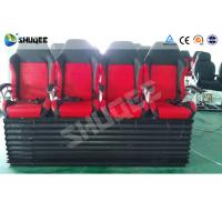 Quality Hydraulic 4DOF Motion Theater Chair With  Push Back /  Leg Tickle Effect for sale