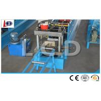 Quality High Speed Racking Beam Cold Forming Machine 380V 50Hz For Shelf 75mm Shaft Diameter for sale