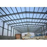 Quality Prefab Metal Buildings Long Span Steel Structures With Sandwich Panels​ for sale