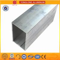 Quality Customized Size Aluminium Industrial Extrusion Tube Profile 6m Length for sale