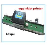 Buy Expiry Date Egg Stamping Equipment , Electronic Inkjet Coding Machine For Eggs at wholesale prices
