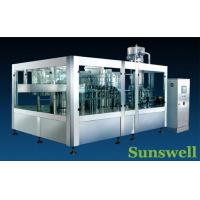 Quality Stainless Steel Tea Filling Machine , Semi-Automatic Liquid Filling Line for sale