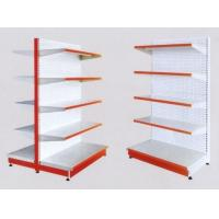 Quality White 5×1000 mm Layers Shelf Metal Display Shelf Supermarket Display Stands for sale