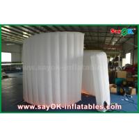 Buy 210D Oxford Fabric Inflatable White Spiral Wall For Photo Booth Tent 1 Year at wholesale prices