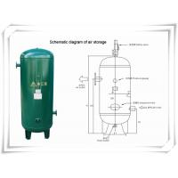 Quality Screw Portable Rotary Compressed Air Receiver Tank Replacement Low Pressure for sale