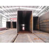 Quality JIS, GB, ASTM Standard Large Diameter Square Rectangular Steel Pipes Tubing For Ship Building for sale