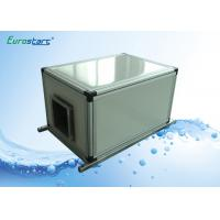 Quality 13.9KW Chilled Water Commercial Air Handling Unit Anti Corrosion 4000Cmh for sale