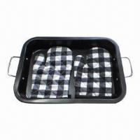 Quality Bakeware Set, Made of 0.5mm Carbon Steel with Gloves  for sale