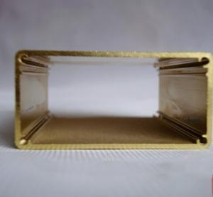 Buy Golden Standard Extrusion Aluminium Enclosures CNC machining 6000 Series at wholesale prices