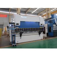Quality 100 Ton 3100mm CNC Hydraulic Press Brake with DELEM DA66T 3D Graphical for sale