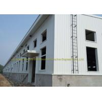 Industrial Construction Workshop Steel Structure Buildings Hot Dip Galvanised for sale