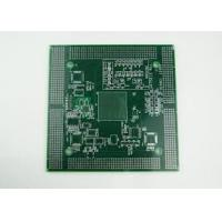 Quality 4 layer 2.5MM industrial control FR4 PCB board Immersion Gold , White Silkscreen for sale
