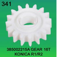 Quality 385002215A / 3850 02215A GEAR TEETH-16 FOR KONICA R1,R2 minilab for sale