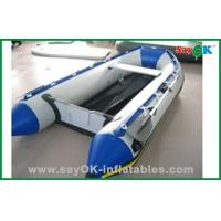 Quality Heat Sealed Blue PVC Inflatable Boats Water Fun Blow Up Boat 2 Person for sale