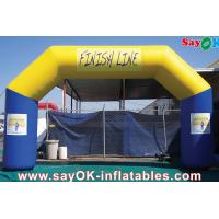 Quality Outdoor Advertising Inflatable Arch For Events / Outdoor Events Promotion Inflatable Arch for sale