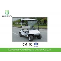 China Mini Electric Golf Carts With 48V Battery Curtis 2 Seaters White Color Cheap Prices Golf Car on sale