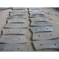 Buy cheap Wear resistance plates Shot Blasting Cast Iron Ball Mill Liners High Hardness Cement Mill from wholesalers